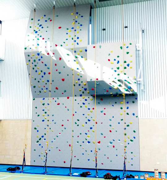 climbing wall perth school
