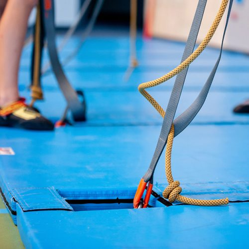 velcro landing mats
